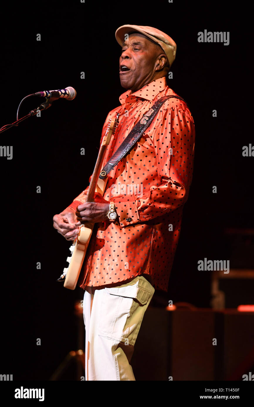 Fort Lauderdale FL, USA  22nd Mar, 2019  Buddy Guy performs at The