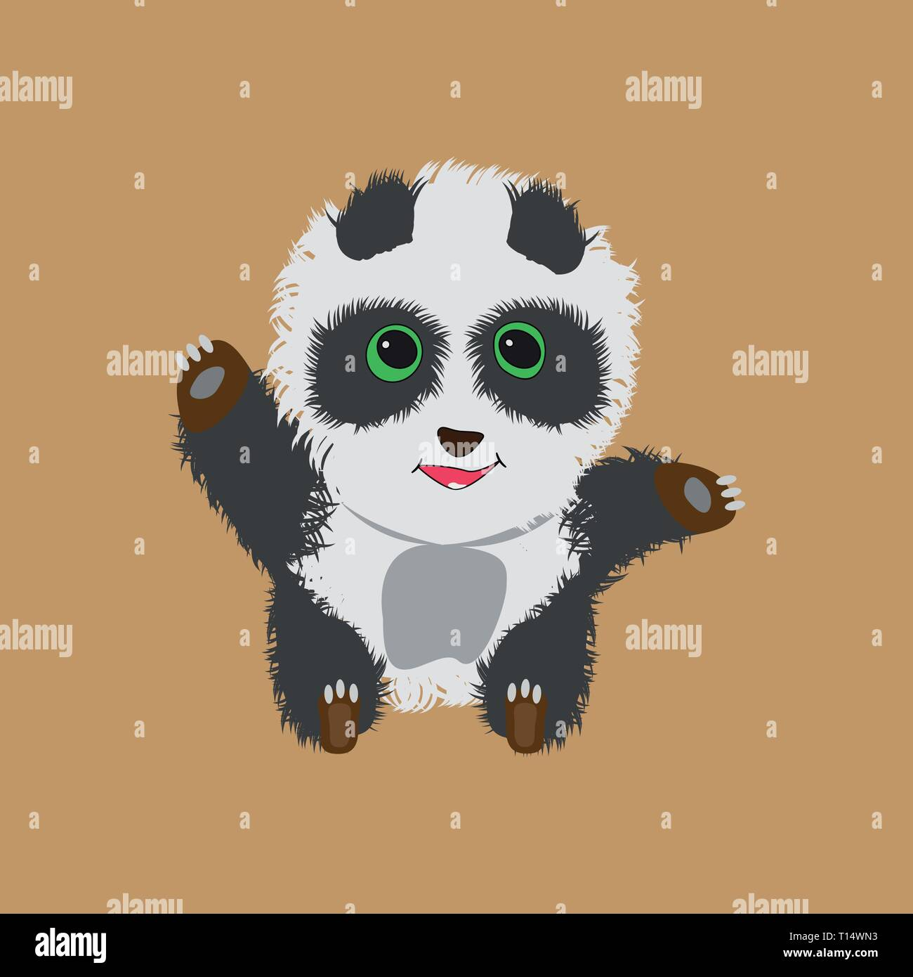 Panda Wallpaper High Resolution Stock Photography And Images Alamy