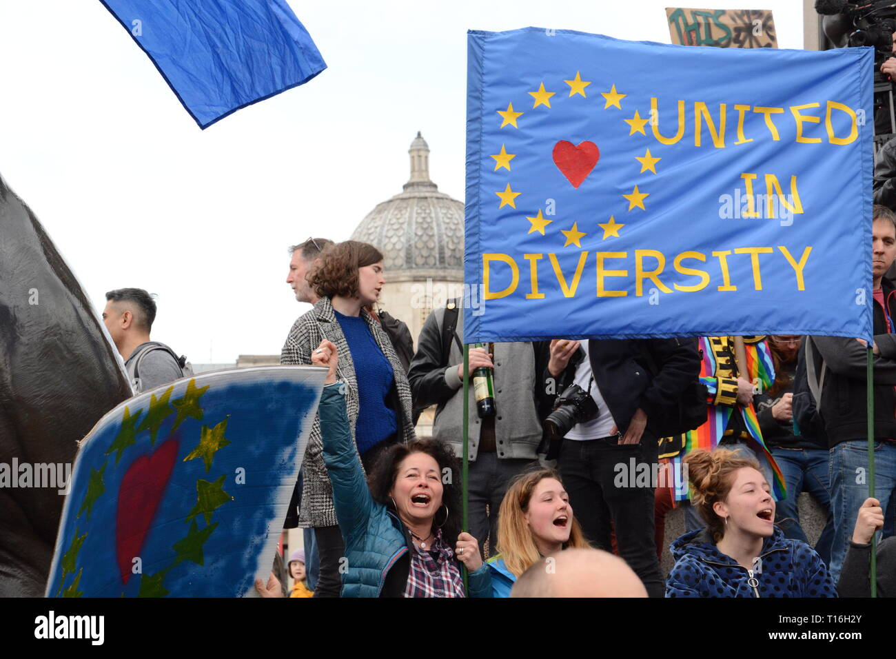 Put it to the People March 23rd March 2019 Stock Photo