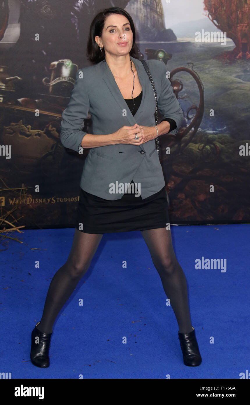 May 10, 2016 - London, England, UK - Alice Through The Looking Glass European Film Premiere, Odeon, Leicester Square - Red Carpet Arrivals Photo Shows - Stock Image