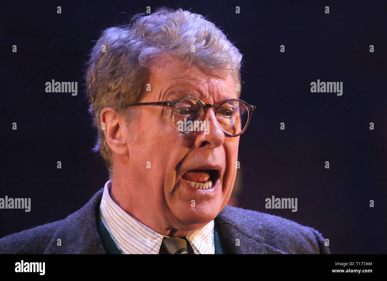 Jun 06, 2016 - London, England, UK - The Go Between Photo Call, Apollo Theatre, Shaftesbury Avenue Michael Crawford leads the cast of the new West End - Stock Image