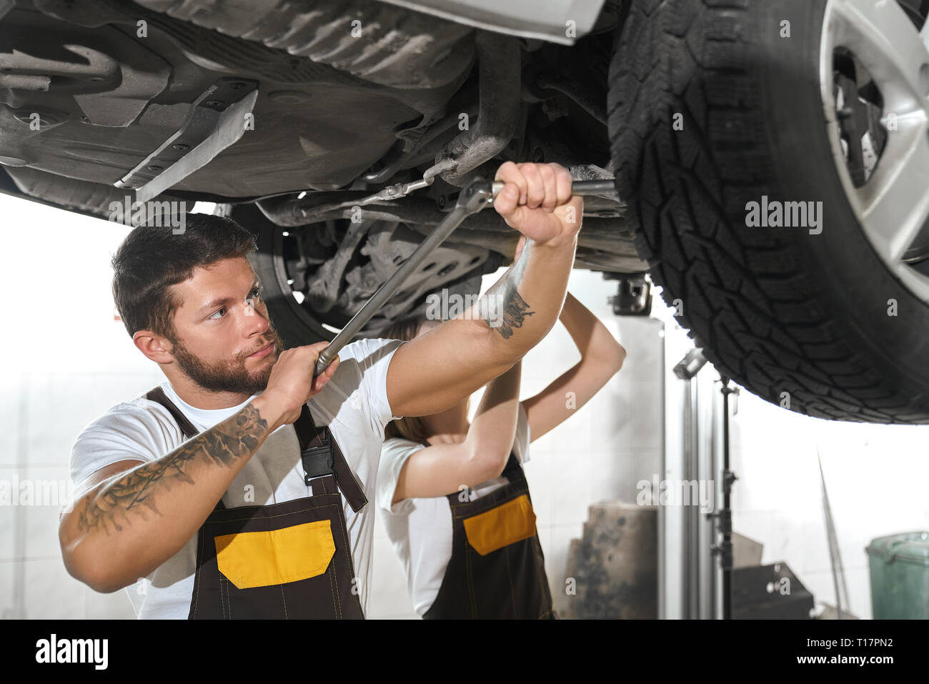 Undercarriage Car Stock Photos Undercarriage Car Stock Images Alamy