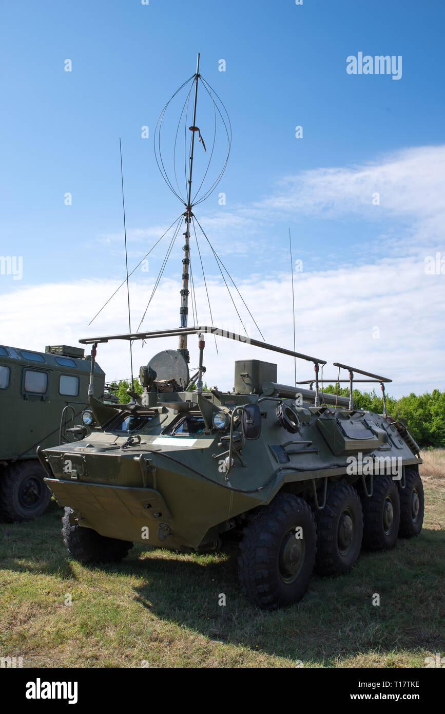Radio Antenna Military Stock Photos & Radio Antenna Military