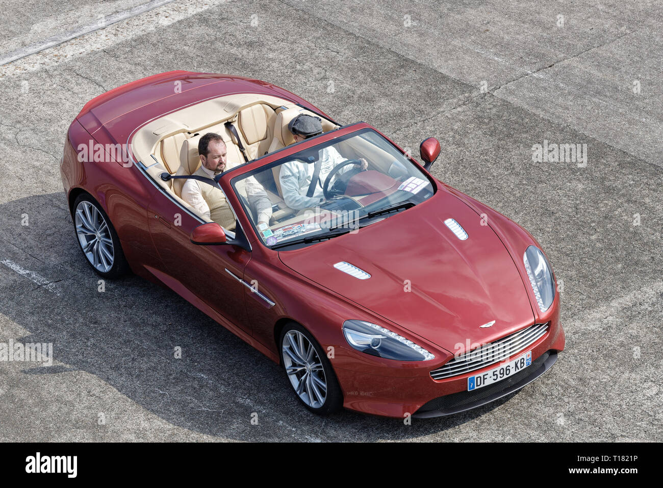 Linas Montlhery France 23rd Mar 2019 Aston Martin Db9 Volante God Save The Car And The