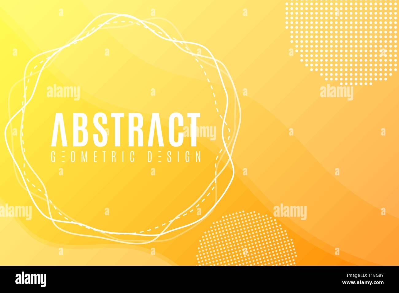 Abstract Creative Banner For Your Design Modern Background