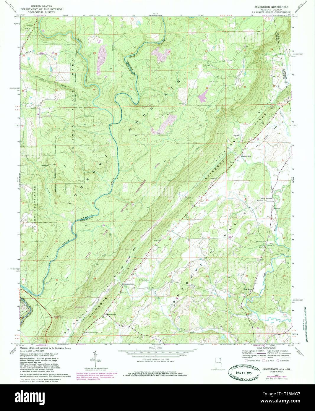 Jamestown Map Stock Photos & Jamestown Map Stock Images - Alamy