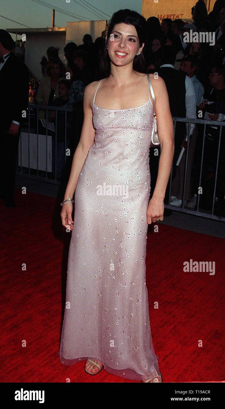 LOS ANGELES, CA. February 23, 1997: Actress MARISA TOMEI at the Screen Actors Guild Awards.      Pix: PAUL SMITH - Stock Image