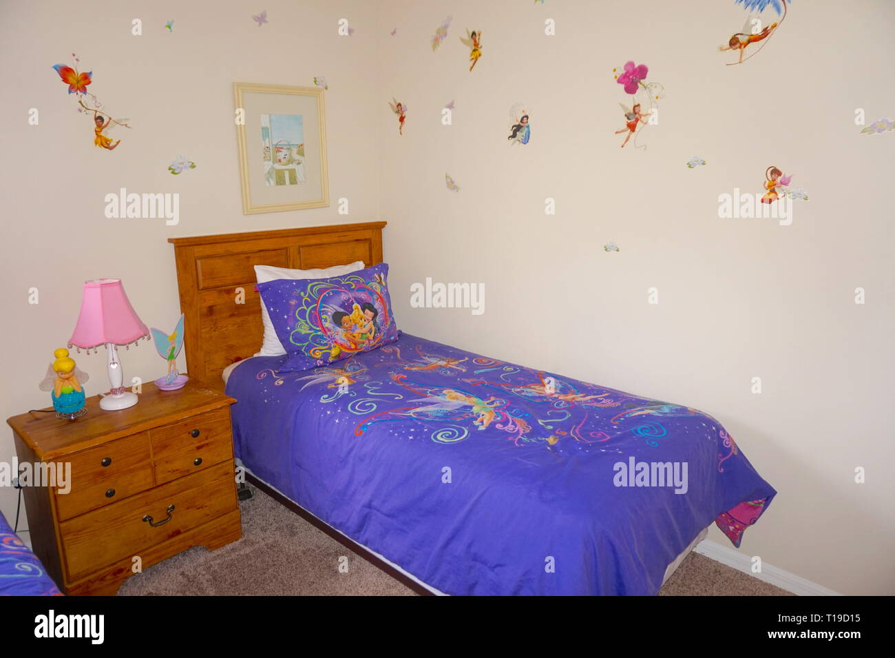 Kids Bedroom At Terra Verde Resort, Orlando, Florida Stock ...