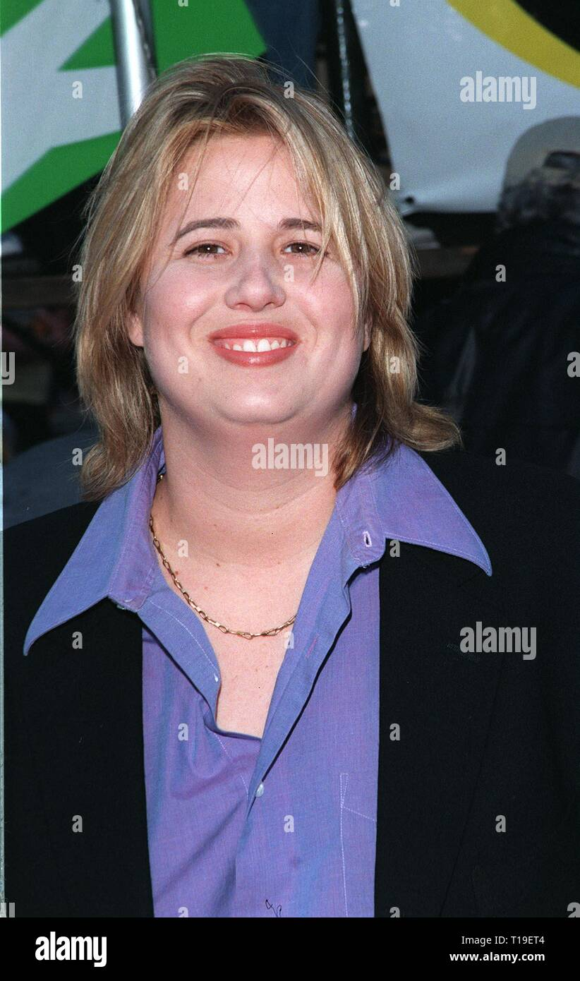 LOS ANGELES, CA - September 8, 2011:  Actress CHASTITY BONO at the world premiere, in Los Angeles, of her new movie 'The X-Files.' - Stock Image