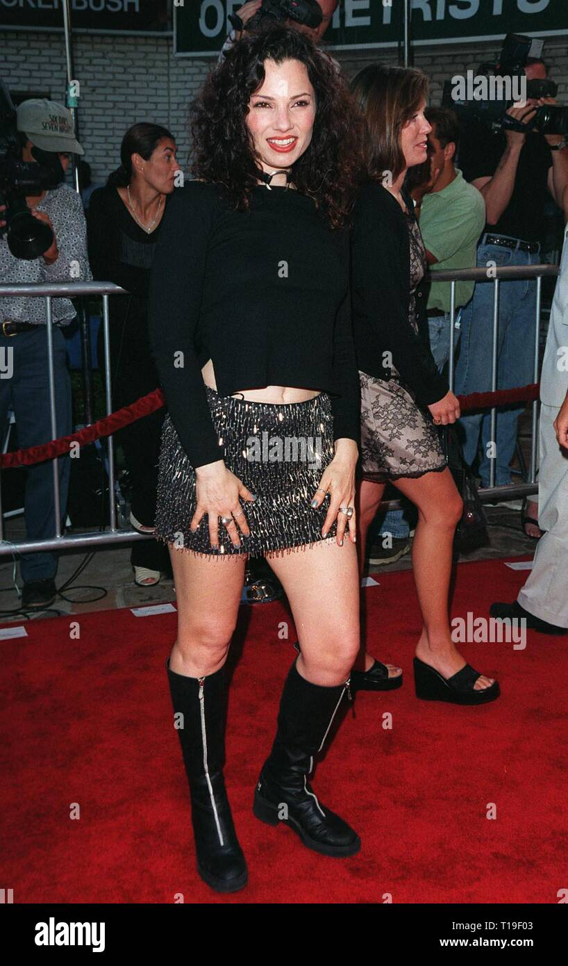 LOS ANGELES, CA - July 9, 1998: Actress FRAN DRESCHER at the world premiere, in Los Angeles, of 'There's Something About Mary.' - Stock Image