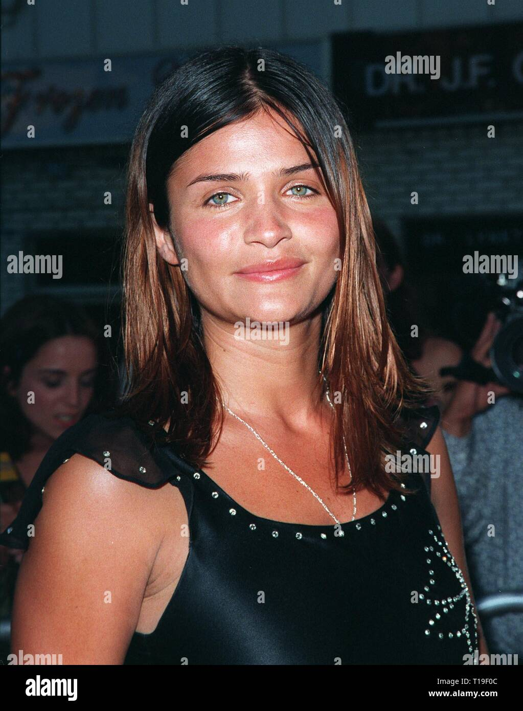 LOS ANGELES, CA - July 9, 1998: Supermodel HELENA CHRISTIANSEN at the world premiere, in Los Angeles, of 'There's Something About Mary.' - Stock Image