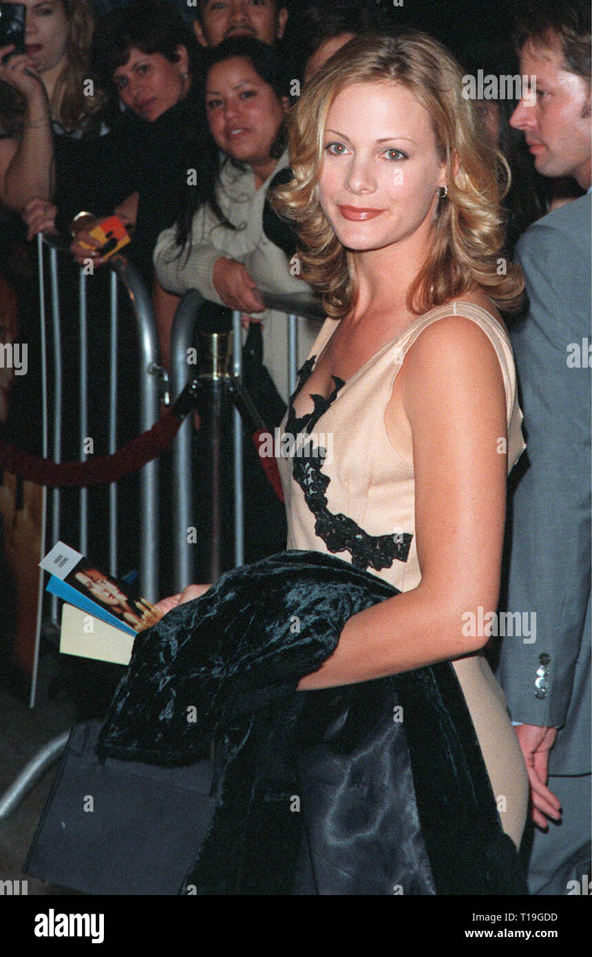 LOS ANGELES, CA - October 13, 1998:  Actress ALISON EASTWOOD (daughter of Clint) at the Los Angeles premiere of 'Practical Magic' which stars Sandra Bullock, Nicole Kidman, Aidan Quinn & Stockard Channing. - Stock Image