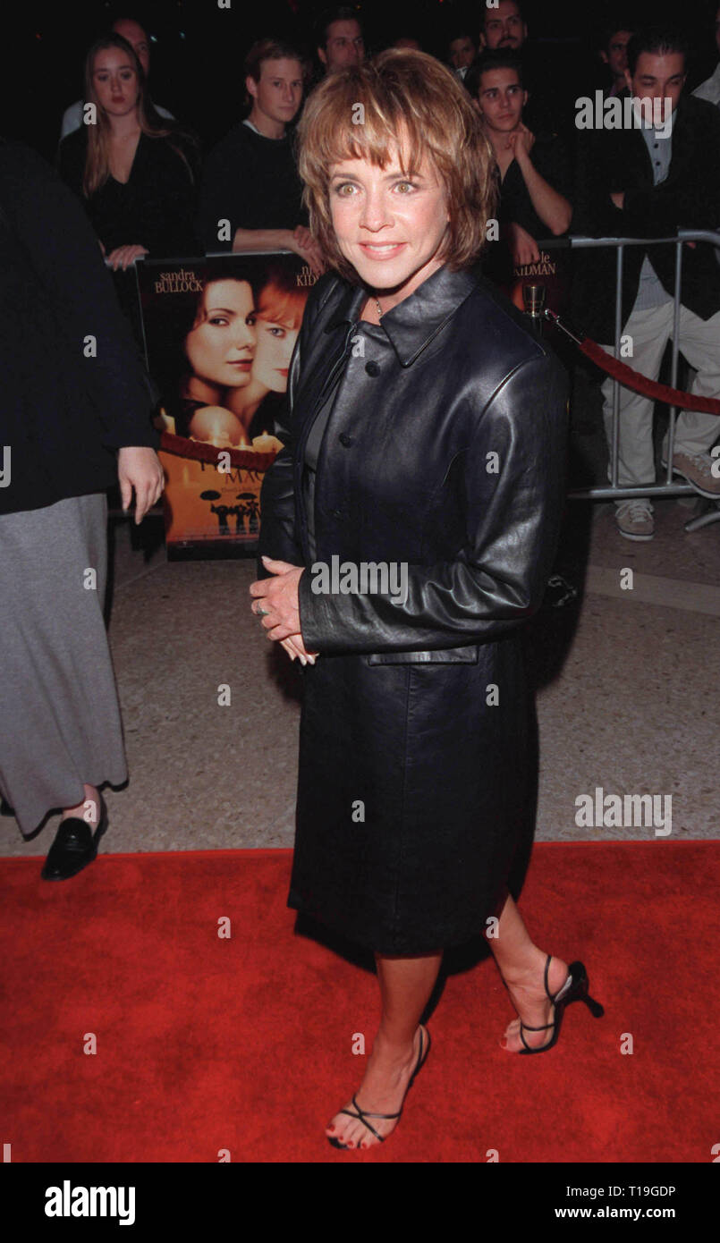LOS ANGELES, CA - October 13, 1998:  Actress STOCKARD CHANNING at the Los Angeles premiere of her new movie 'Practical Magic' in which she stars with Nicole Kidman, Aidan Quinn & Sandra Bullock. - Stock Image