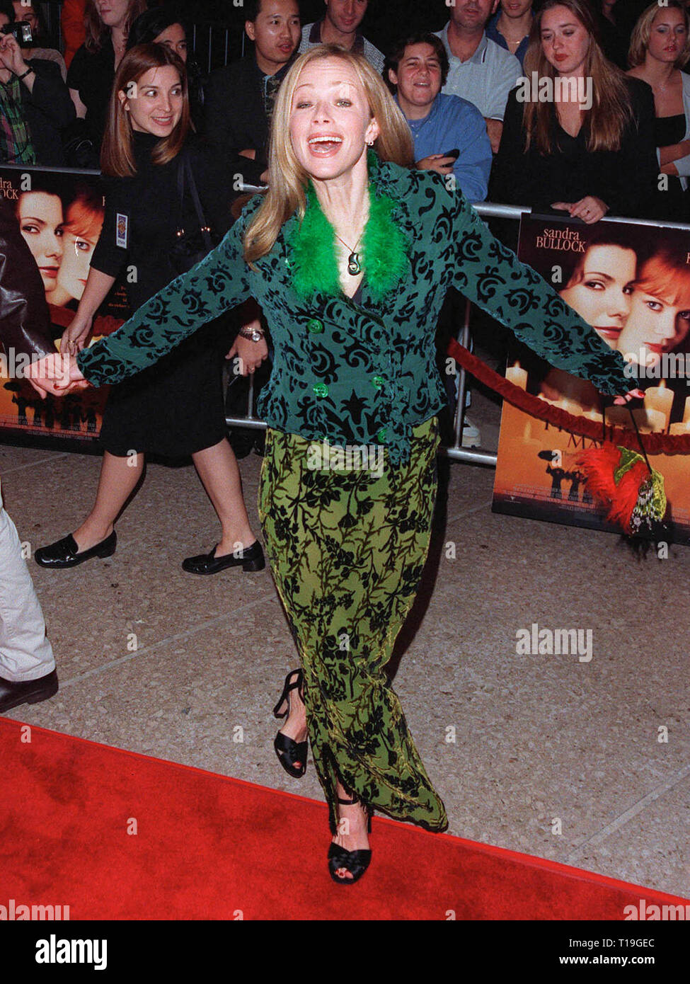 LOS ANGELES, CA - October 13, 1998:  Actress LAUREN HOLLY at the Los Angeles premiere of  'Practical Magic' which stars Sandra Bullock, Nicole Kidman, Aidan Quinn & Stockard Channing. - Stock Image