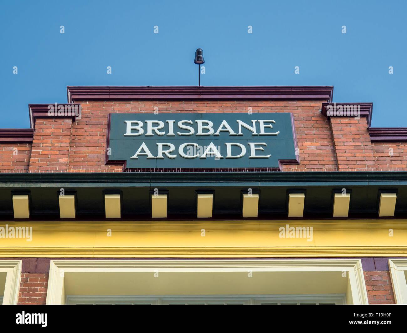 Locations within Brisbane City Queensland Australia - Stock Image