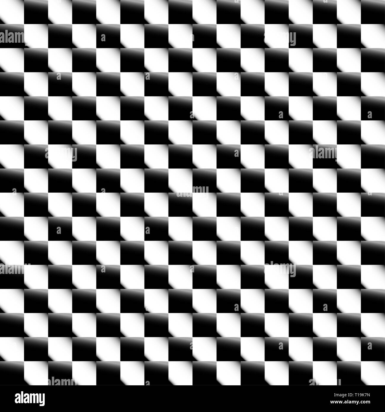 ebb37e1f3 Squares abstract geometric pattern. Grayscale, seamlessly repeatable checkered  pattern with alternating squares.
