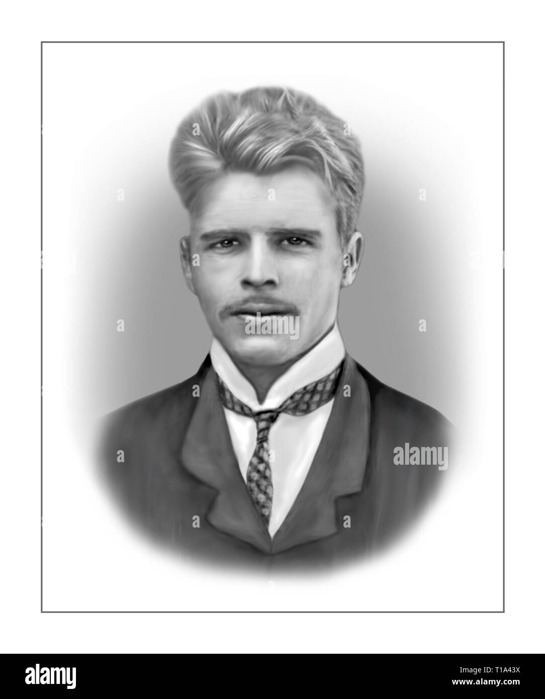 Hermann Rorschach 1884-1922 Swiss Psychiatrist Psychoanalyst - Stock Image
