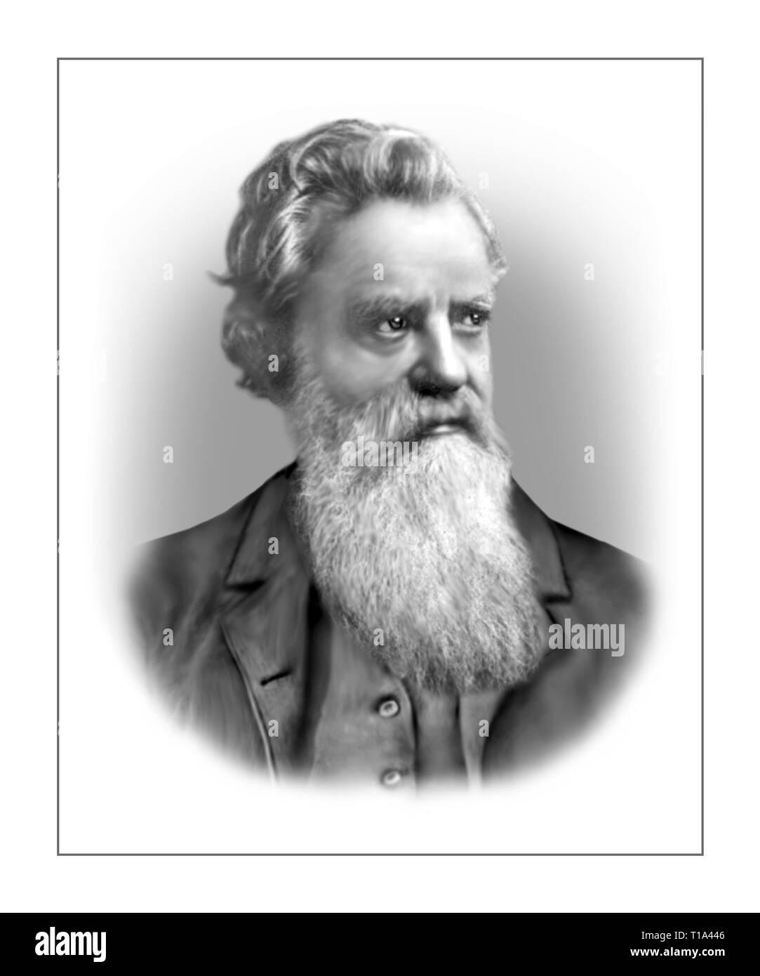 Carl Wilhelm Bernhard Scheibler 1827-1899 German Chemist - Stock Image