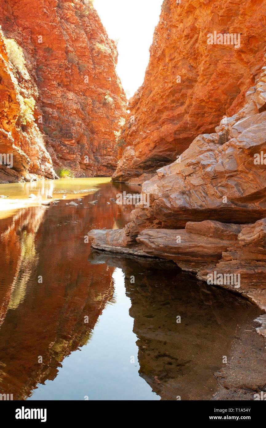 Simpsons Gap, Northern Territory, Australia - Stock Image
