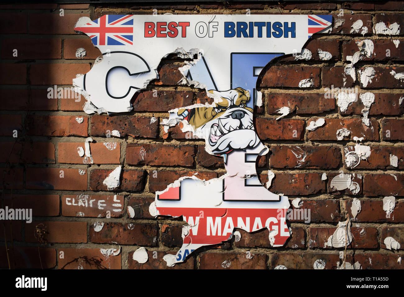 British Bulldog Flag Stock Photos & British Bulldog Flag