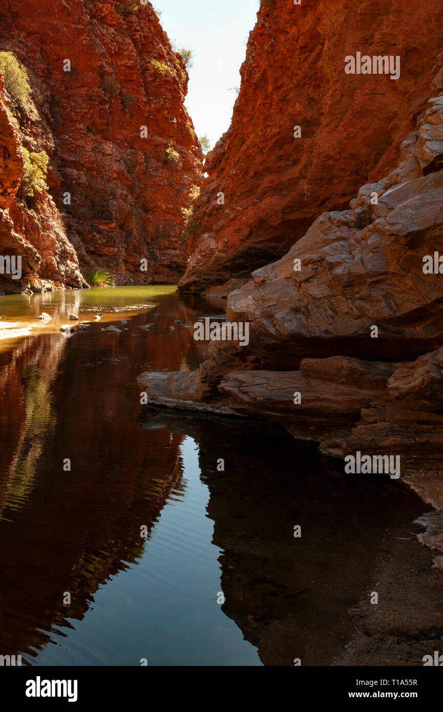 Simpsons Gap, Northern Territory, Australia - Stock Image