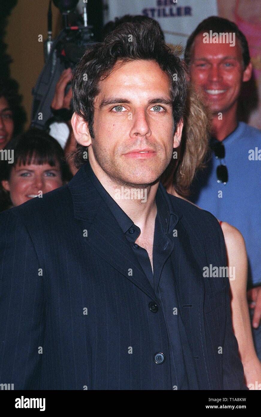 LOS ANGELES, CA - July 9, 1998: Actor BEN STILLER at the world premiere, in Los Angeles, of his new movie 'There's Something About Mary.' - Stock Image