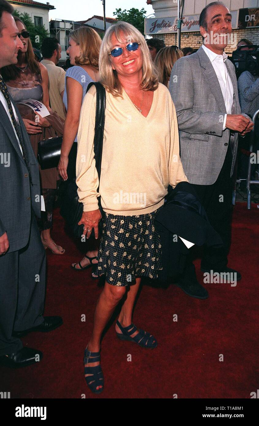LOS ANGELES, CA - July 9, 1998: Director PENNY MARSHALL at the world premiere, in Los Angeles, of 'There's Something About Mary.' - Stock Image