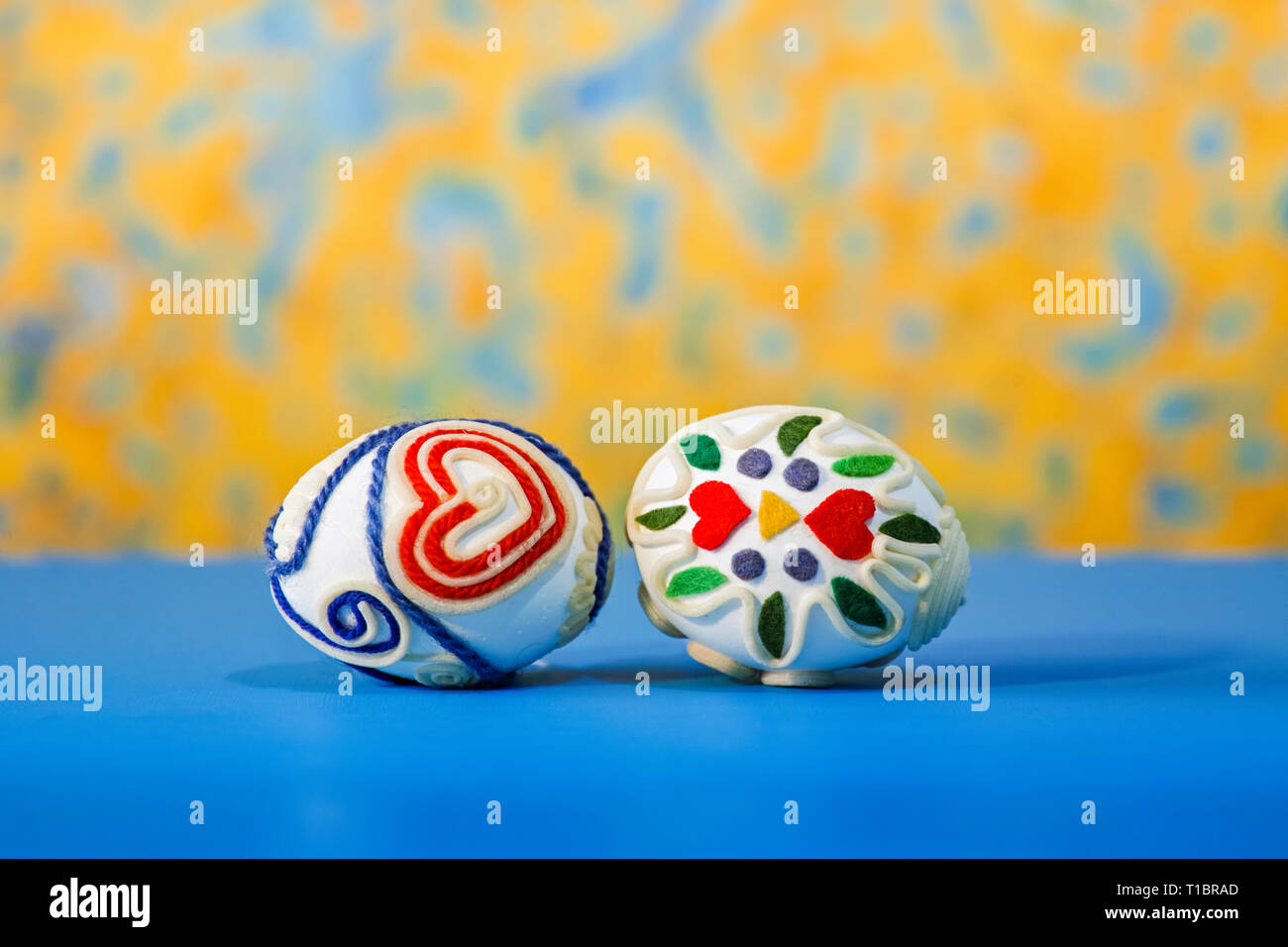 easter bunny family - Stock Image