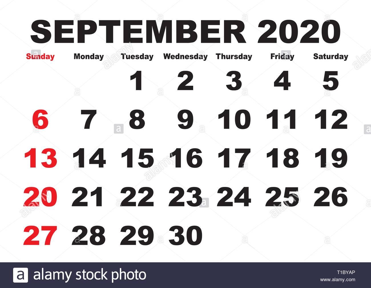 2020 Calendar Stock Photos & 2020 Calendar Stock Images - Alamy