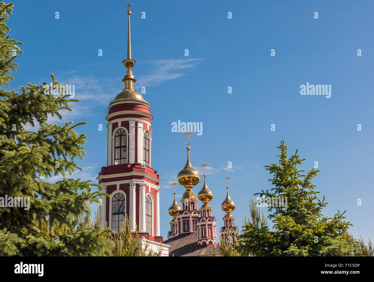 Church of Archangel Michael in Suzdal, Russia - Stock Image