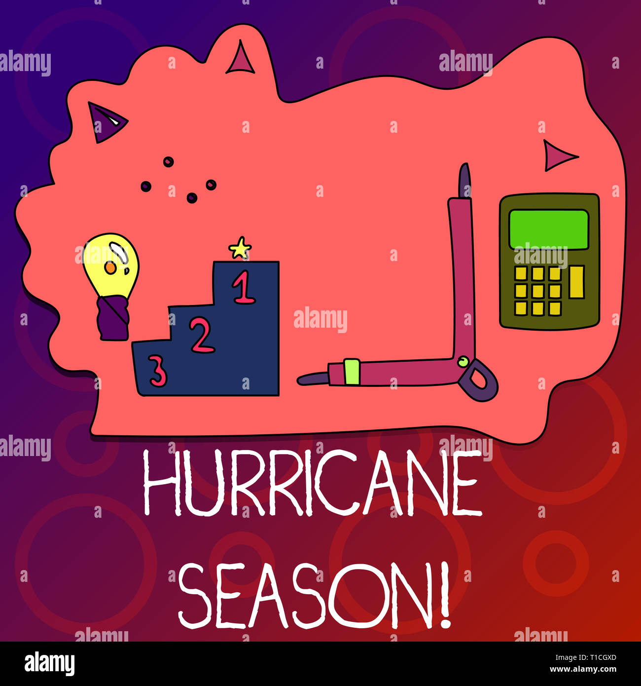 Hurricane Icons Stock Photos & Hurricane Icons Stock Images