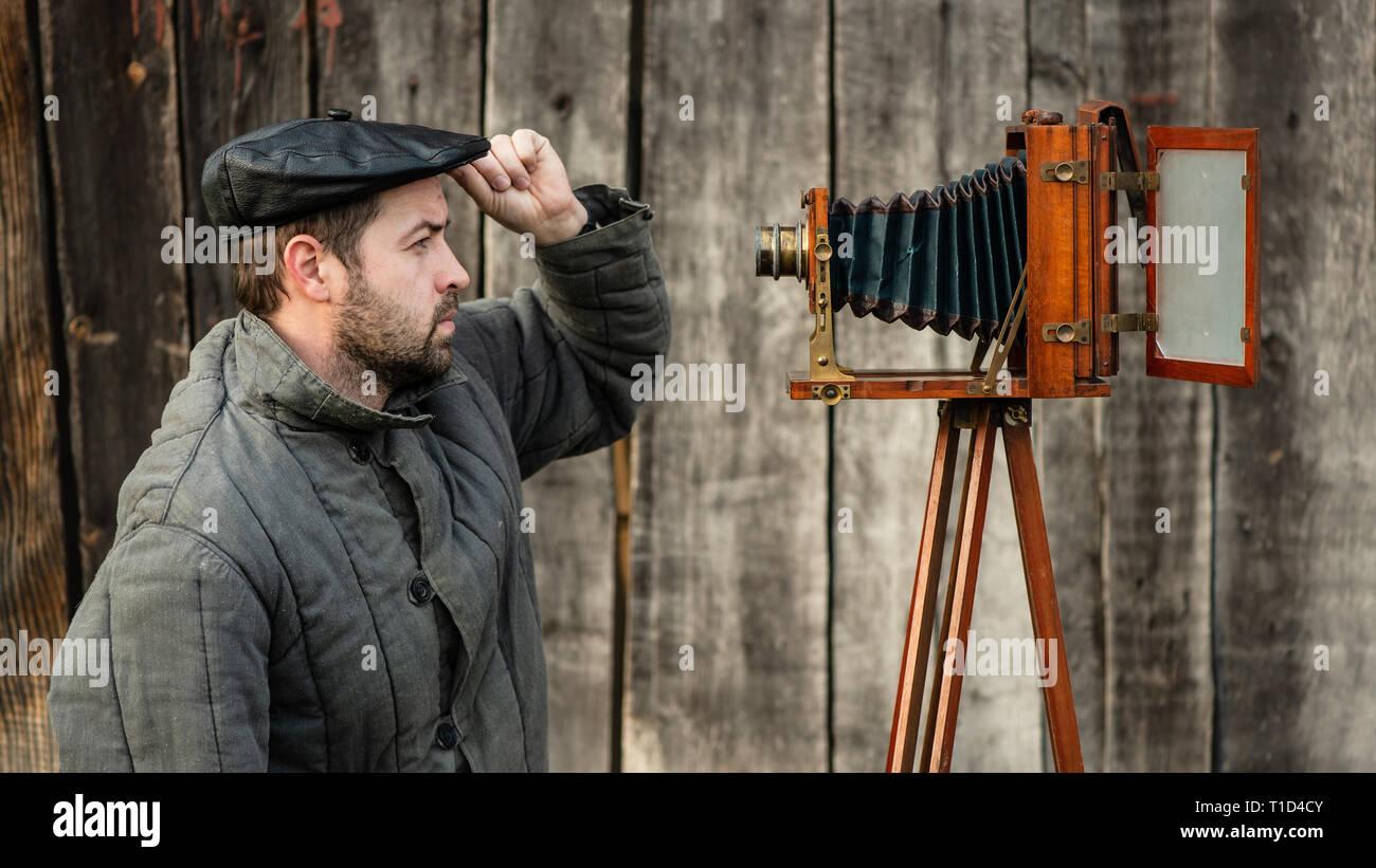 Large Format Camera Stock Photos & Large Format Camera Stock Images