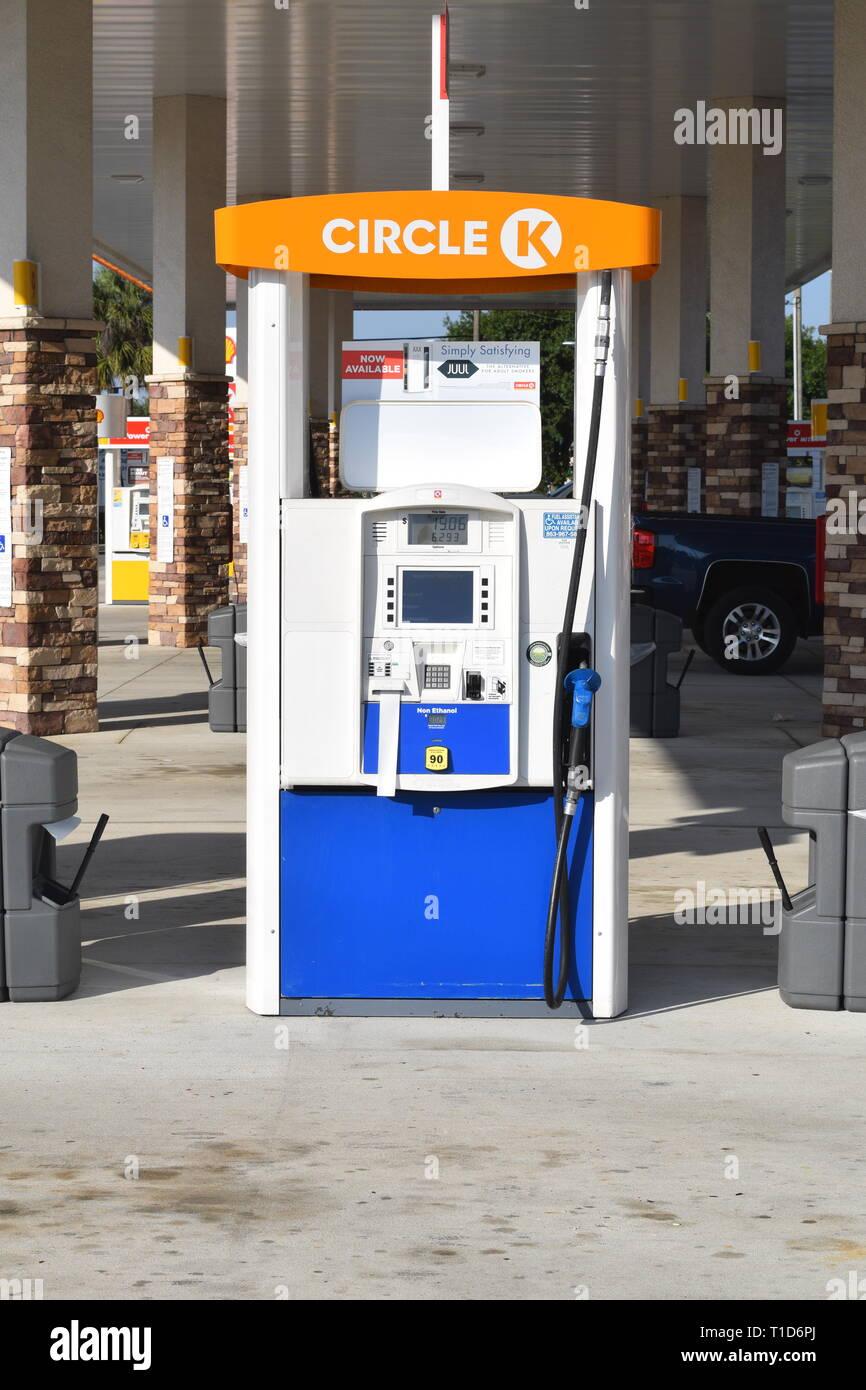 Non Ethanol Gas Stations >> Circle K Gas Station Gas Pump At American Petrol Station