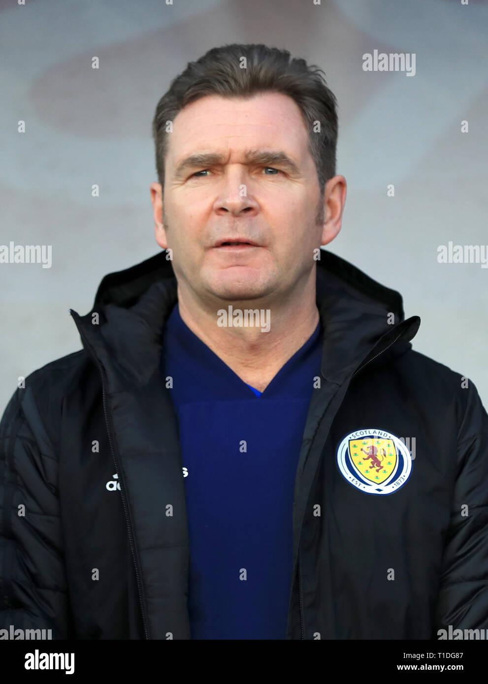 Peter Grant, Scotland assistant coach - Stock Image