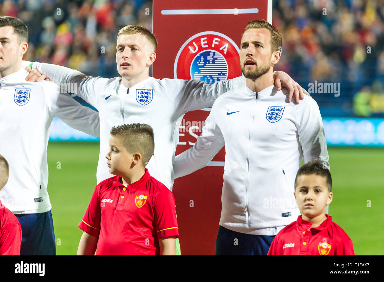 new styles 1aa69 c2c81 England National Soccer Team Stock Photos & England National ...