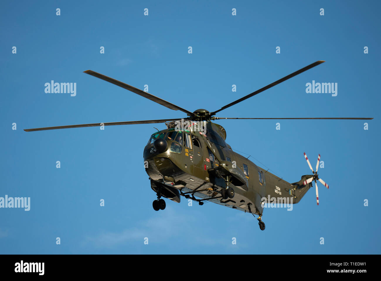 Langkawi, Malaysia. 26th March 2019. Helicopter performance by Malaysian Airforce at the LIMA exhibition Credit: Chung Jin Mac/Alamy Live News Stock Photo