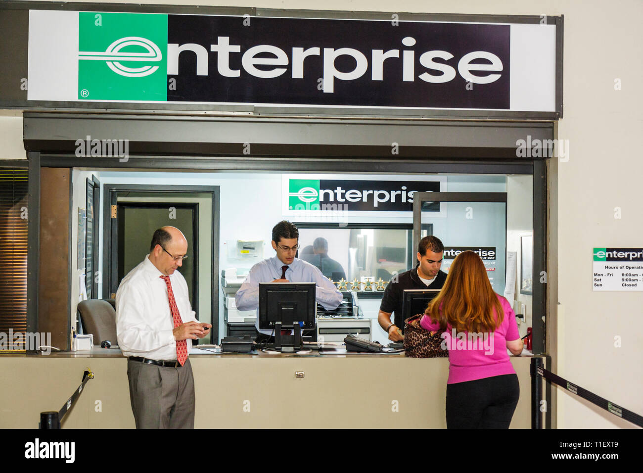 Enterprise Car Rental High Resolution Stock Photography And Images Alamy