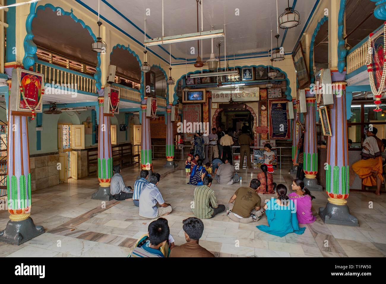 Ganesh Trompe A Droite 12 06 2009 stock photos & 12 06 2009 stock images - alamy