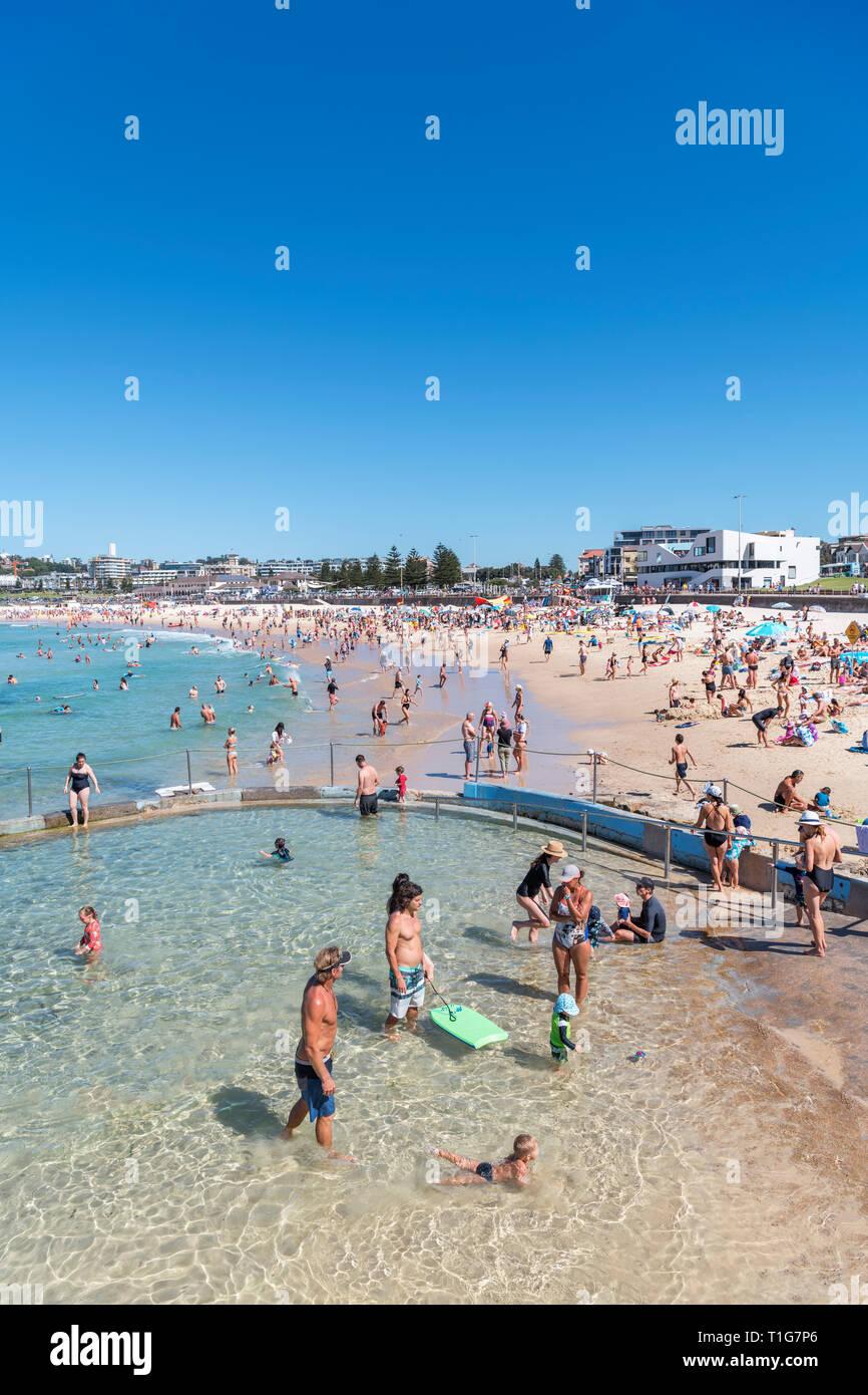 Bondi Beach, Sydney, New South Wales, Australia - Stock Image