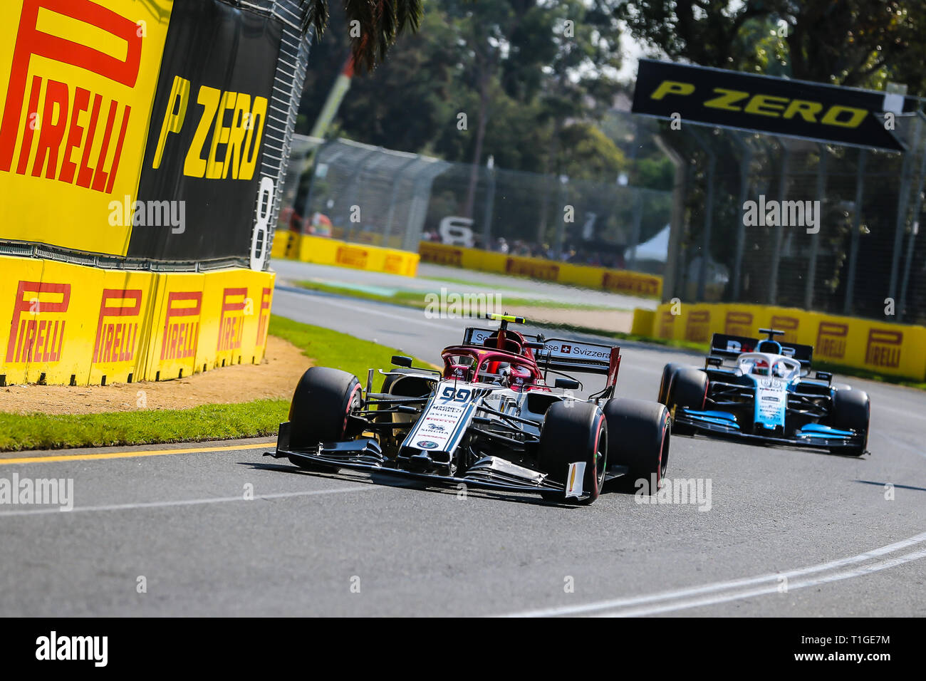 MELBOURNE, AUSTRALIA - MARCH 16: Kimi Raikkonen of Alfa