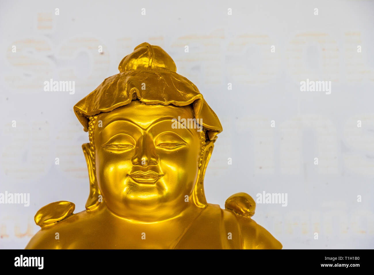 the big buddha statue in Phucket Thailand - Stock Image
