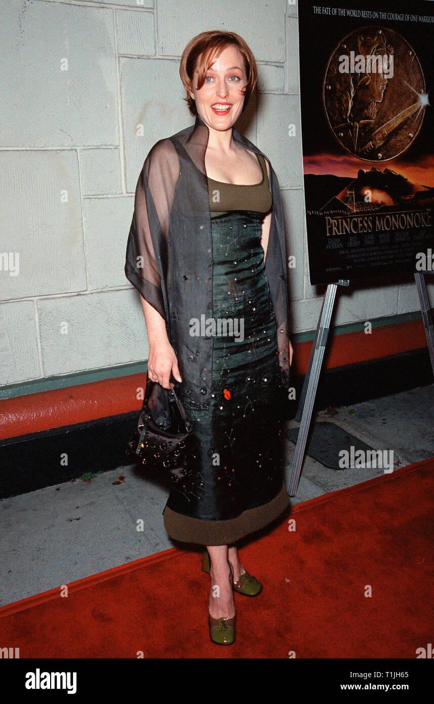 Anderson Gillian Nue los angeles, ca. october 20, 1999: actress gillian anderson