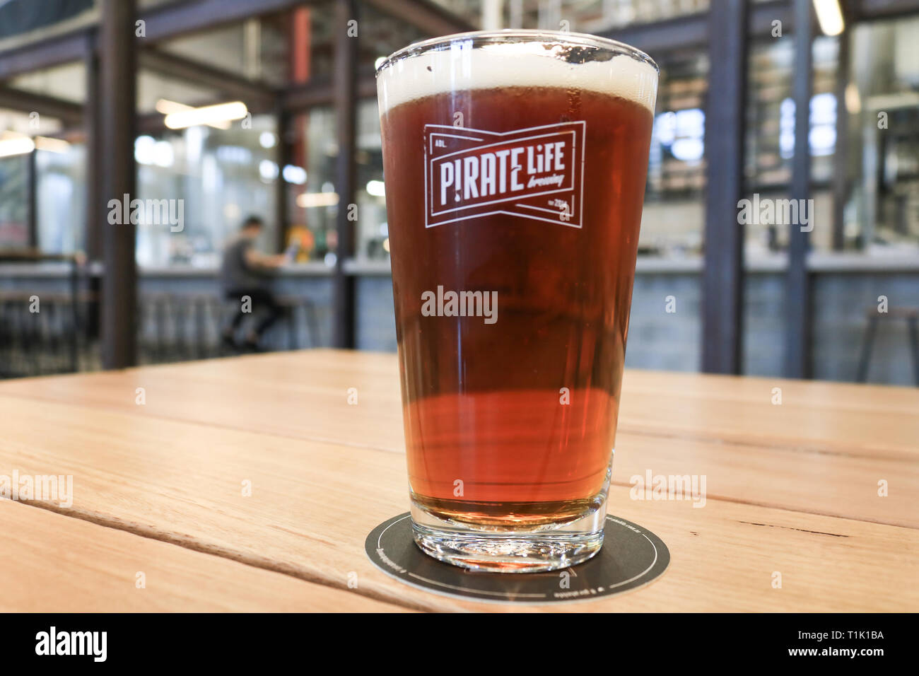 Adelaide, Australia  27th Mar, 2019  The Pirate Life Brewing