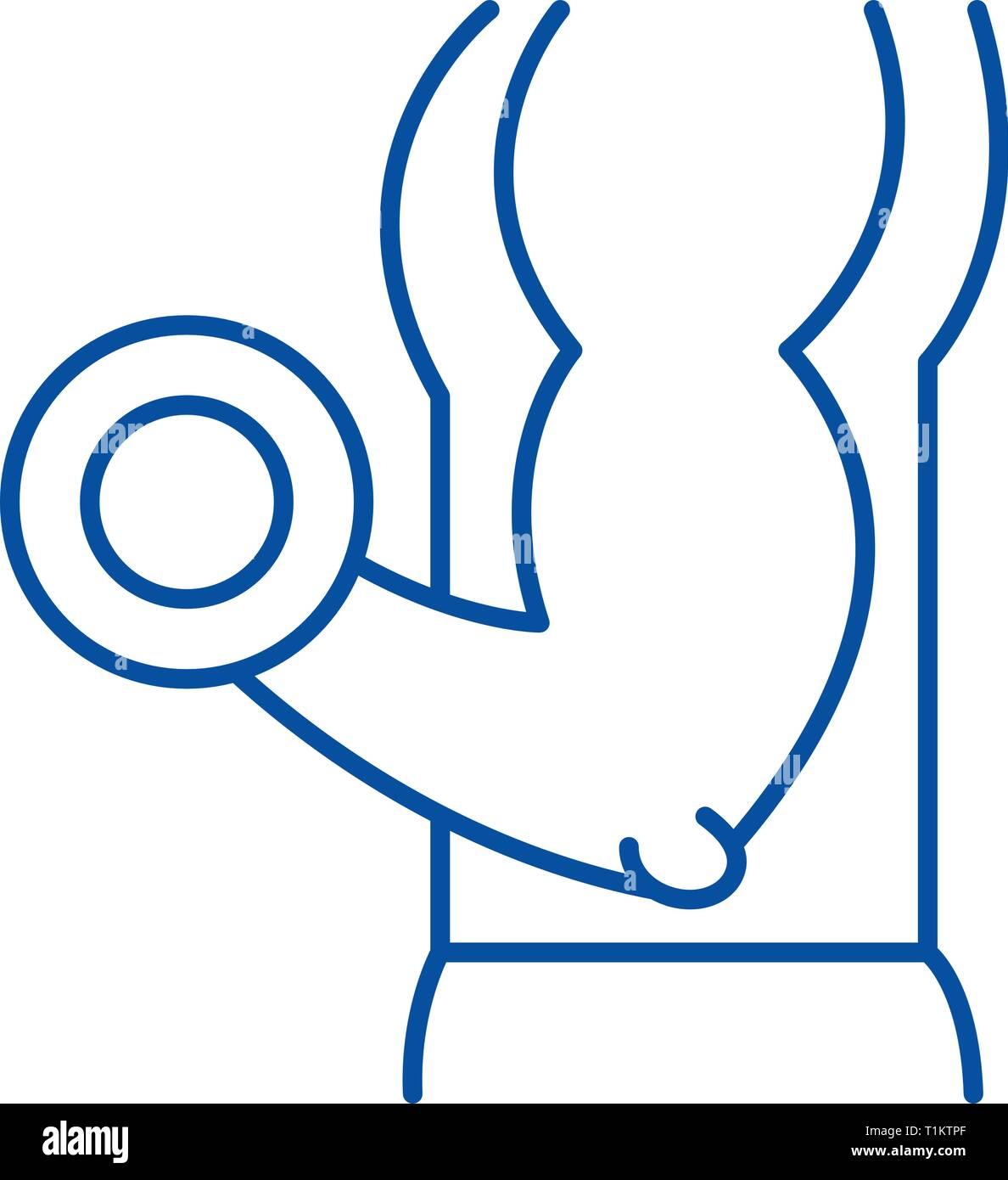 Physical Strength: Symbol Of Physical Strength Stock Photos & Symbol Of