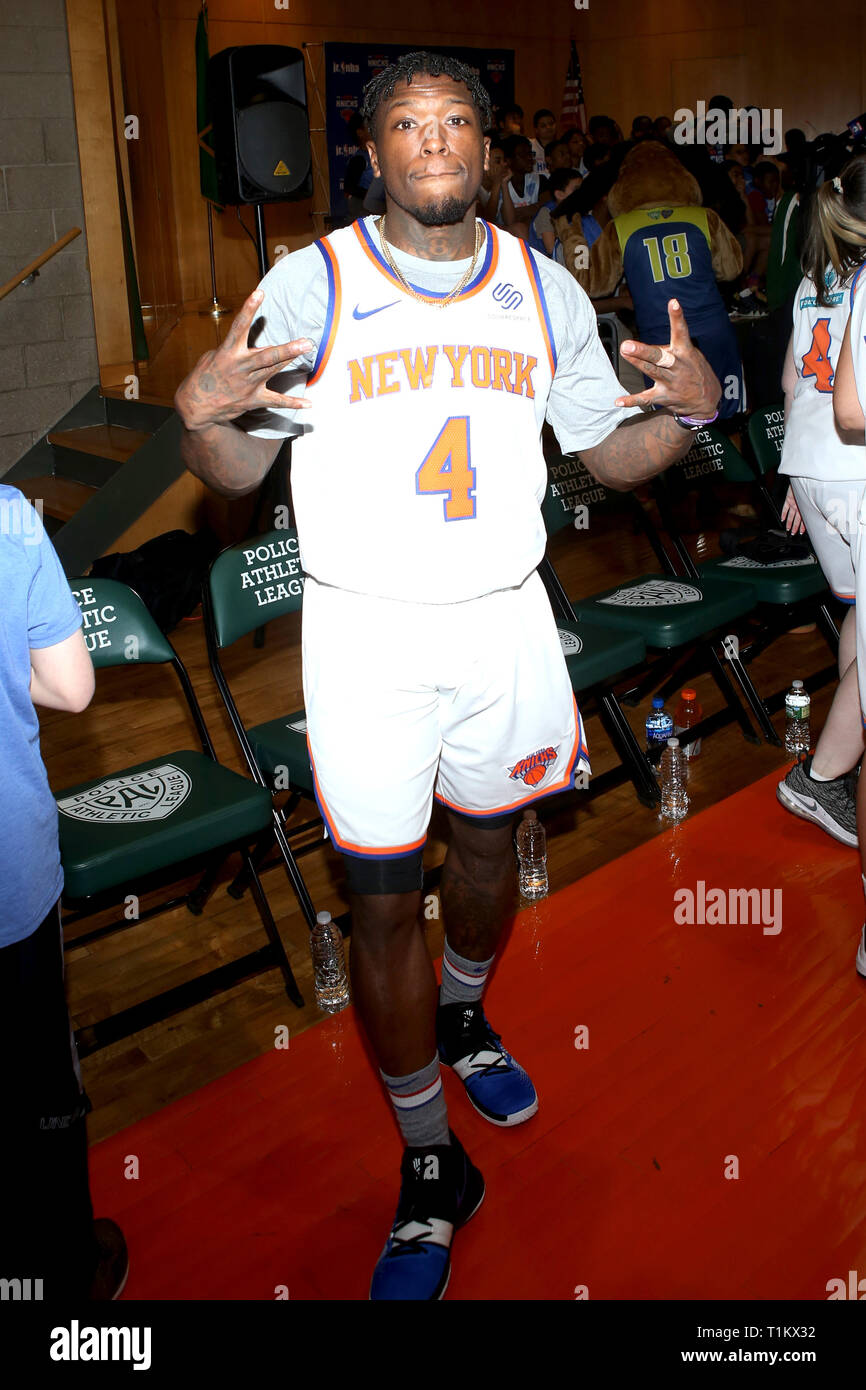 the best attitude 11a77 15c7f New York Knicks Nate Robinson Stock Photos & New York Knicks ...