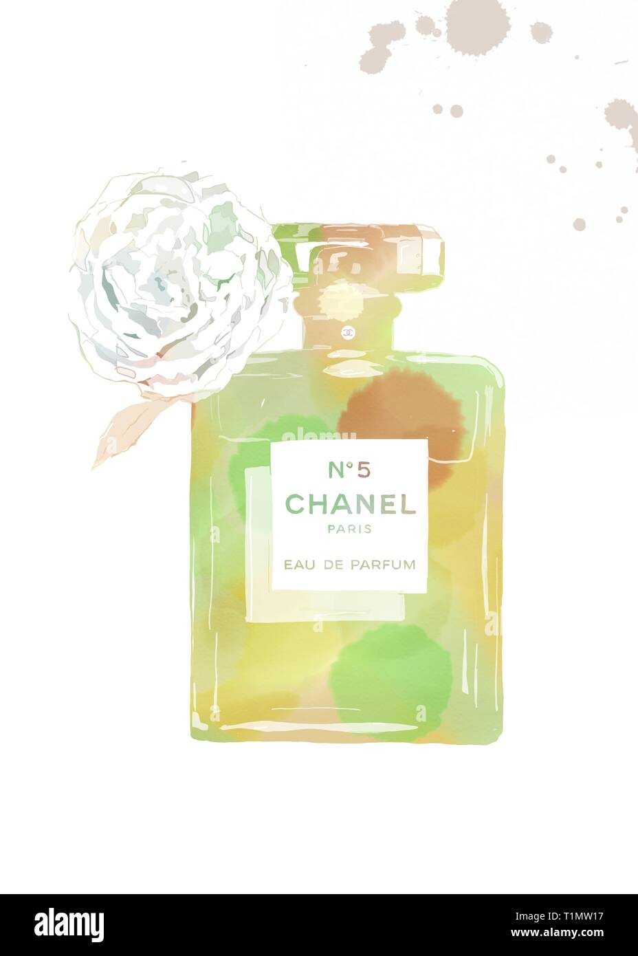 Coco Chanel Perfume Stock Photos Coco Chanel Perfume Stock Images