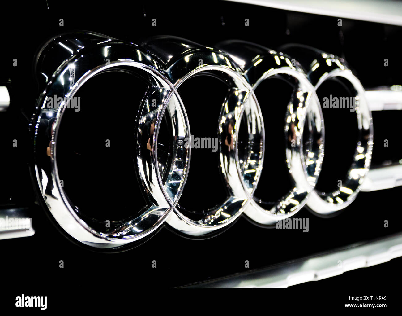 Audi Logo High Resolution Stock Photography And Images Alamy