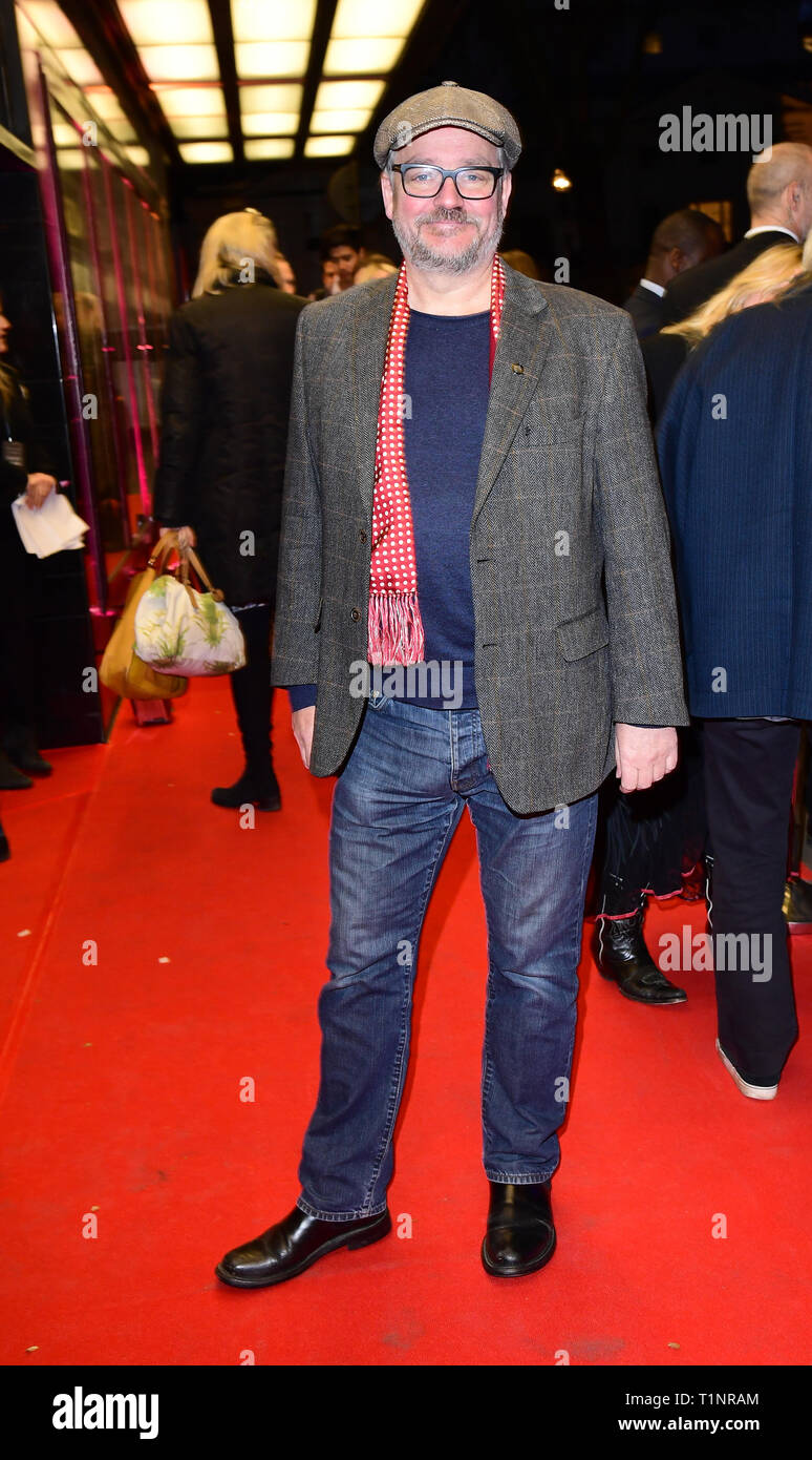 Charlie Higson arriving for the pre-premiere screening of Accidental Studio, the documentary telling the story of HandMade Films at Curzon Mayfair, London. - Stock Image