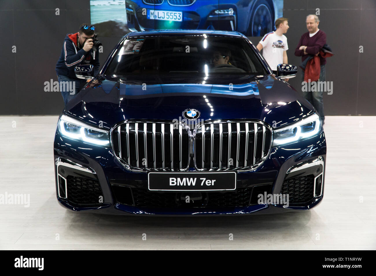 New Bmw 7 Series Stock Photos New Bmw 7 Series Stock Images Alamy