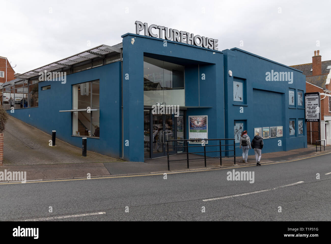Exterior of Exeter Picturehouse - Stock Image